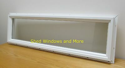 Transom Window 10 x 36 Vinyl Double Pane Sheds Tiny Houses Playhouses Homes