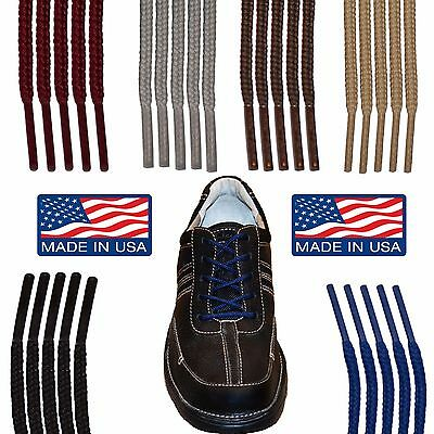 Round Casual Dress Shoelaces - 27 36 40 45 54 63 Inch Shoe String Laces- Premium