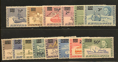 BAT Antarctic Territory - British Commonwealth - 1971 Sc. #25-38 Mint NH