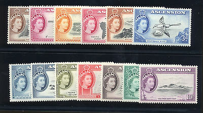 Ascension - British Commonwealth - 1956 Sc. #62-74 Mint NH