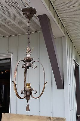 Art Deco Ceiling Light Fixture , Entry , Hall , Porch , Ornate