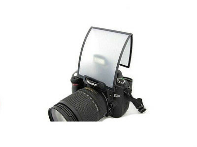 NEW UK Soft Screen Pop Up Flash Diffuser for DSLR Camera Canon Nikon Sony Pentax