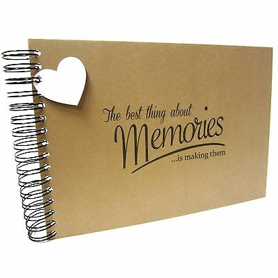 A5 A4 Best Memories, Scrapbook, Card Pages, Photo Album, Keepsake, Landscape