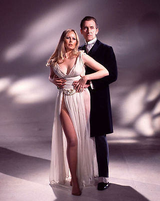 Veronica Carlson & Peter Cushing Unsigned Photo - 4074