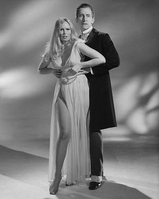 Veronica Carlson & Peter Cushing Unsigned Photo - 4087