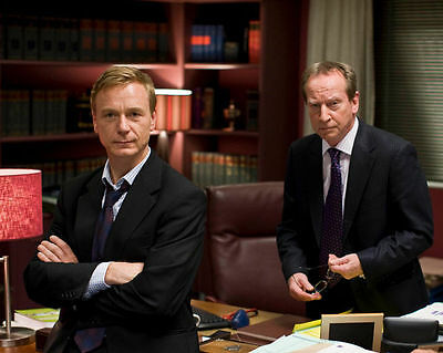 Ben Daniels & Bill Paterson Unsigned Photo - 3929 - Law & Order: Uk
