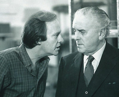 George Cole & Dennis Waterman Unsigned Photo - 4565 - Minder