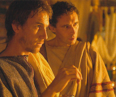 Guy Henry & Tobias Menzies Unsigned Photo - 4415 - Rome