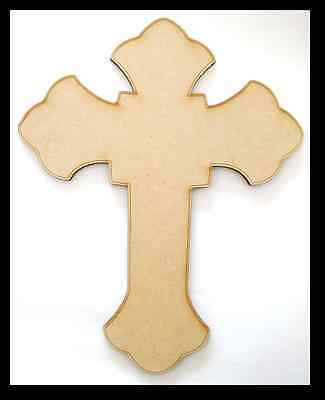 Cross - Wooden Cut-out - 300x370mm
