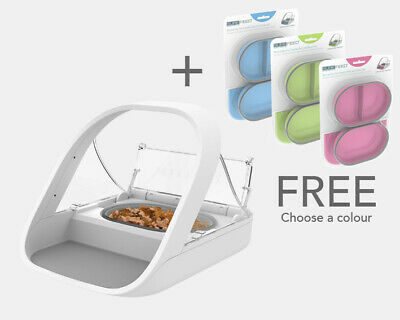 SureFeed Microchip RFID Pet Feeder Cat Bowl By Sureflap | Money Back Guarrantee