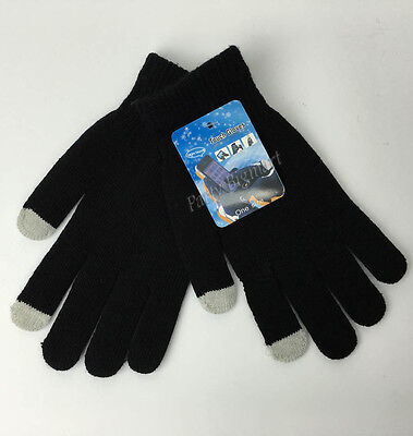 Adult Unisex Magic Touch Screen Gloves Smartphone Tablet Warm Knit Mittens-G6306