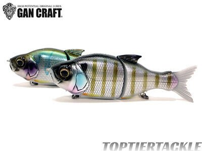 Gan Craft S Song 115 Slow Sink Jointed Swimbait - Select Color