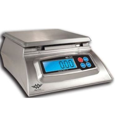My Weigh 7000-Gram Capacity Stainless-Steel Kitchen Food Scale, Silver KD-7000
