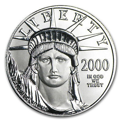 2000 1/2 oz Platinum American Eagle BU - SKU #7247