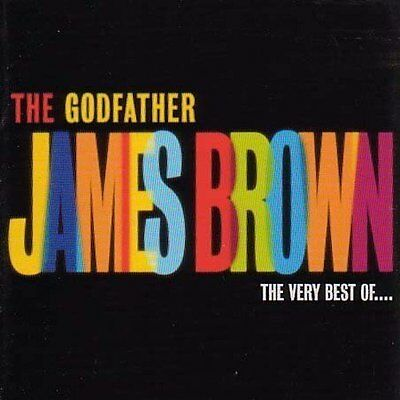 James Brown The Godfather: The Very Best Of Cd (Greatest Hits)