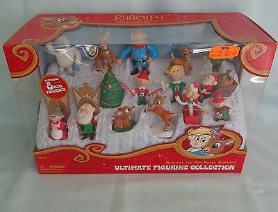 RUDOLPH The Red Nosed Reindeer Misfit Ultimate Collection Figurine 15 Figure Set