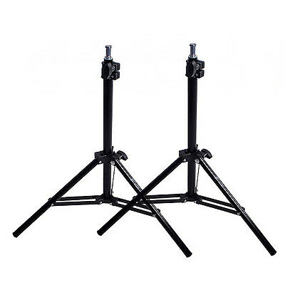 2x Mini Background Backlight Table Tripod Light Stand Support for Video Lighting