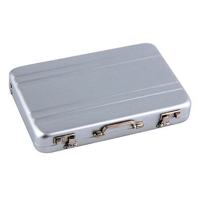 1pc Cool Aluminum Briefcase Business Card Credit Card Holder Case Box ALP