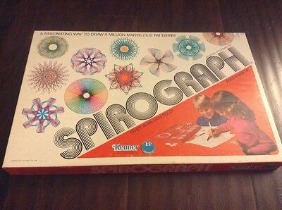Vintage Kenner Spirograph No. 1421 Missing Two Wheels