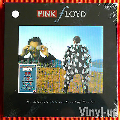PINK FLOYD - THE ALTERNATE DELICATE SOUND OF THUNDER 4LP +2CD+1DVD  600 copies
