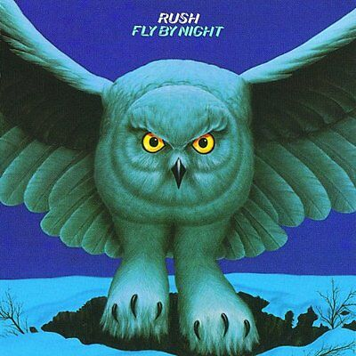Rush Cd - Fly By Night [Remastered](1997) - New Unopened