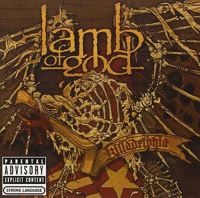 Lamb Of God Cd - Killadelphia [Explicit](2005) - New Unopened - Rock Metal
