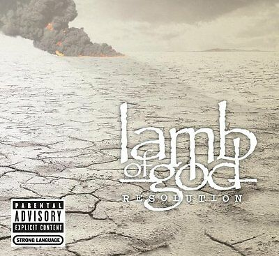 Lamb Of God Cd - Resolution [Explicit](2012) - New Unopened - Rock Metal