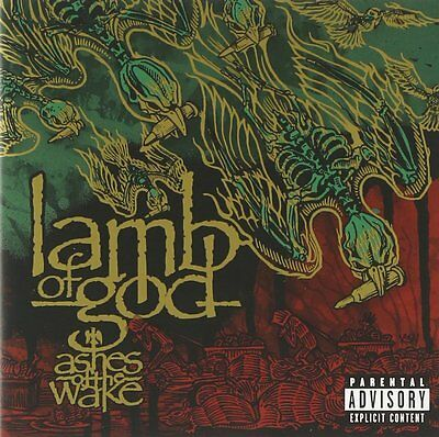 Lamb Of God Cd - Ashes Of The Wake [Explicit](2004) - New Unopened - Rock Metal