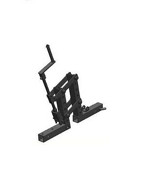 Impact Implements 1-Point Lift System for ATV / UTV Hitch