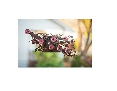 Cherry Blossom Suet Bird Feeder by Desert Steel