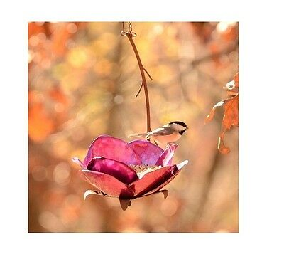 Crab Apple Bird Feeder by Desert Steel