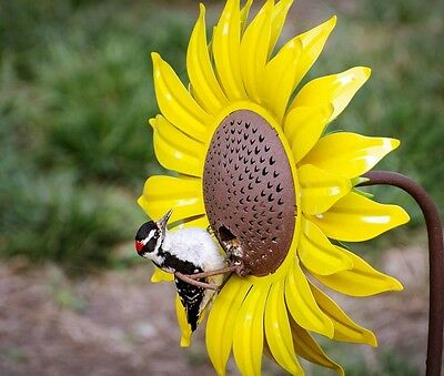 Sunflower Bird Feeder by Desert Steel