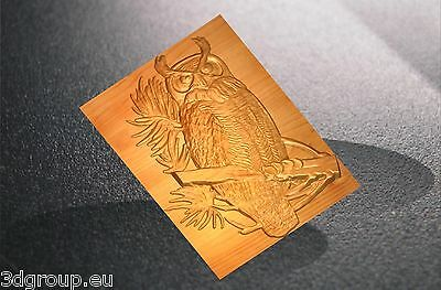 451 CNC 3d Relief Model STL for Router Engraver Mill Woodworking 3D printer