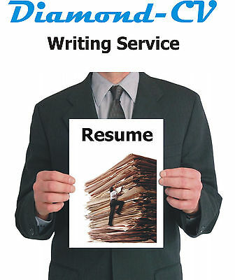 Diamond-CV Professional Resume, Cover and Follow-up Letter Writing Service
