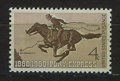 ESTADOS UNIDOS/USA 1960 MNH SC.1154 Pony Express