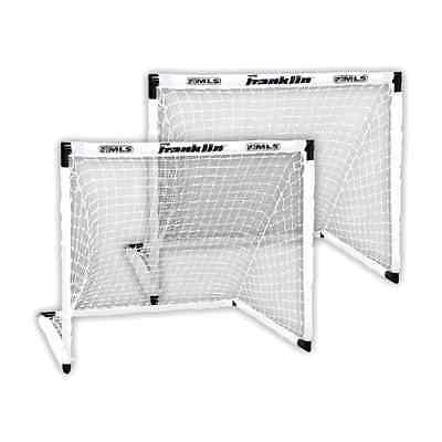 Goal Soccer Set of 2 Portable Football Net Training Outdoor Sports Goals 54-Inch