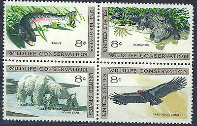 ESTADOS UNIDOS/USA 1971 MNH SC.1427/1430 Wildlife conservation