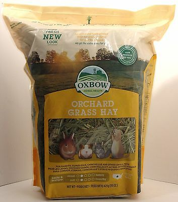 Oxbow Animal Health Orchard Grass Hay (15 oz)