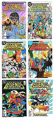 LEGENDS SET 1-6 (VF/NM 9.0 to NM 9.4)  COMPLETE SET (FREE SHIPPING)*
