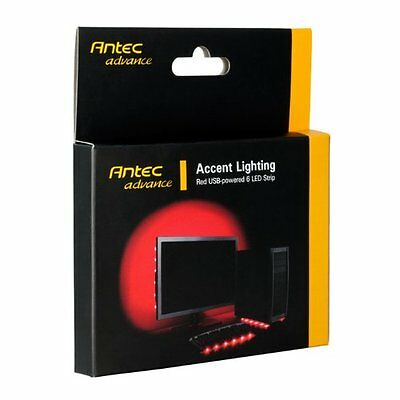 Antec Advance Accent Lighting Red USB-powered 6 LED Strip