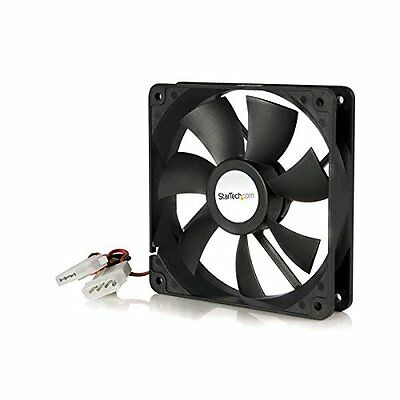 StarTech.com 120x25mm Dual Ball Bearing Computer Case Fan with LP4 Connecto