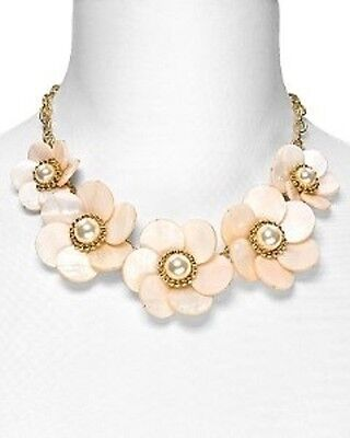 authentic NIB kate spade garden party floral necklace bridal wedding jewelry
