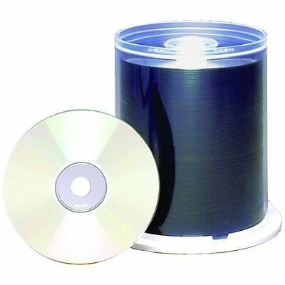 100PK CDR Printable White MATTE48X Spindle