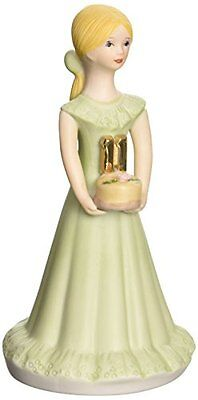 Growing up Girls from Enesco Blonde Age 11 Figurine 5.5 IN