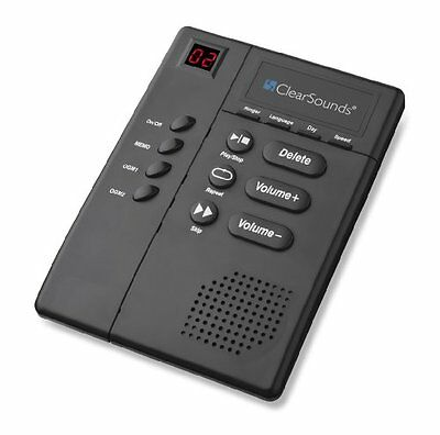 ClearSounds Digital Amplified Answering Machine (ANS3000)