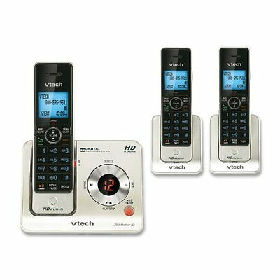 VTech LS6425-3 DECT 6.0 Expandable Cordless Phone with Answering System and Call