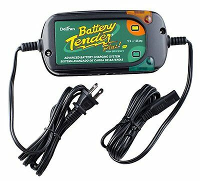 Battery Tender 022-0185G-dl-wh Black 12 Volt 1.25 Amp Plus Battery Charger/Maint