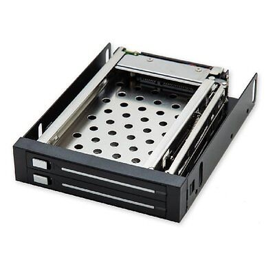 IO Crest Mobile Rack for Two 2.5-Inch SATA III HDD SI-MRA25030