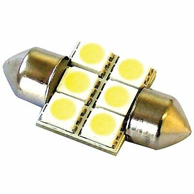 Race Sport RS-31MM-W-5050 31mm LED 6 Chip Bulbs, White