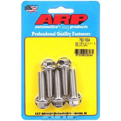 """ARP 762-1004 Hex Bolt, M10 x 1.50"""", Pack of 5"""